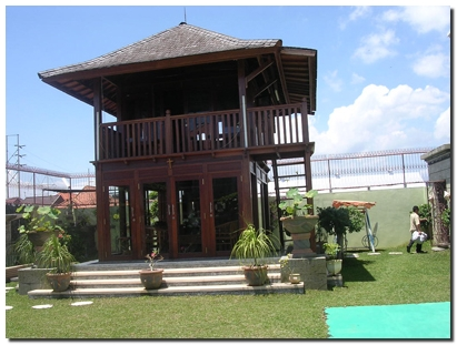Wooden house custom design bali for Balinese home designs