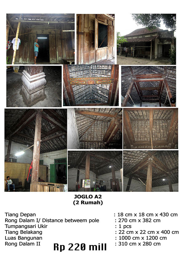 bali traditional teak wood java joglo gladak house for sale 2