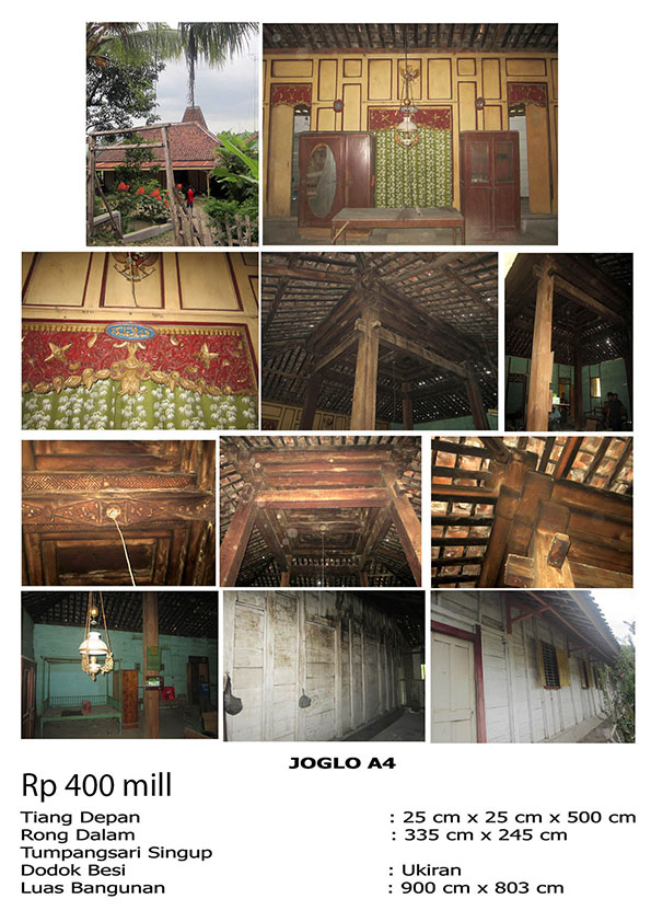 bali traditional teak wood java joglo gladak house for sale 4