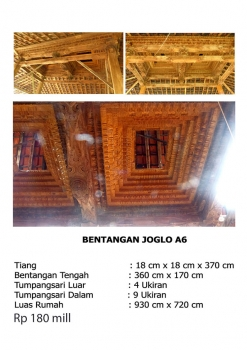bali traditional teak wood java joglo gladak house for sale bentangan joglo