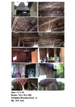 bali traditional teak wood java joglo gladak house for sale joglo 11x10