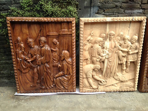 custom design bali art wood sculpture 1